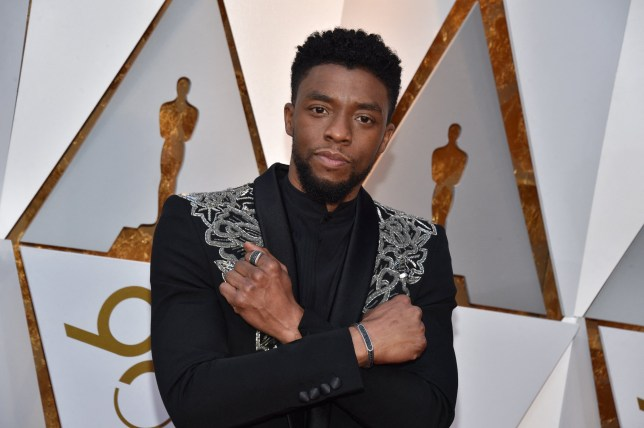 ABACA via PA Images File photo dated March 4, 2018 of Chadwick Boseman arriving for the 90th annual Academy Awards (Oscars) held at the Dolby Theatre in Los Angeles, CA, USA. US actor Chadwick Boseman, best known for playing Black Panther in the hit Marvel superhero franchise, has died of cancer aged 43. Boseman was diagnosed with colon cancer four years ago but had not made the information public. Photo by Lionel Hahn/ABACAPRESS.COM
