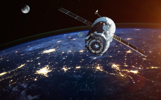 Amazon is going to launch over 3,000 satellites into space to beam down broadband internet (Credits: Getty Images/iStockphoto)