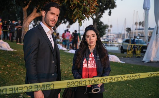 Ella Lopez and Lucifer (Picture: Netflix)