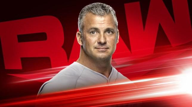 WWE superstar Shane McMahon on Raw