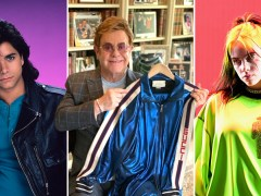 Sir Elton John's Gucci tracksuit and Billie Eilish's ukulele among items up for auction