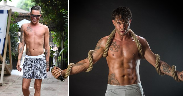 OWIE's Bobby Norris poses shirtless to unveil his amazing fitness transformation after 75 day challenge