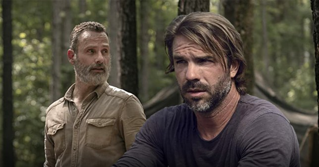The Walking Dead's Matt Mangum and Andrew Lincoln