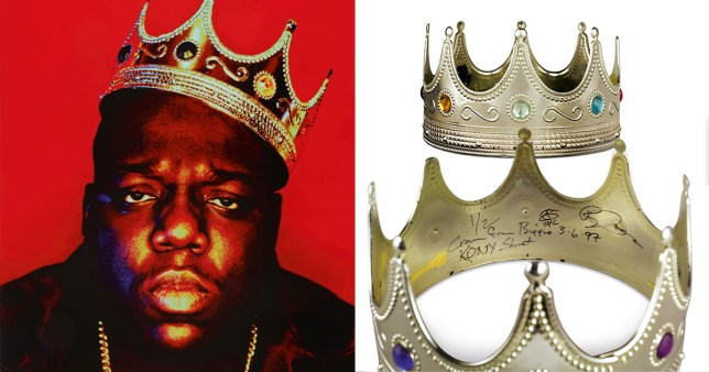 Notorious B.I.G. crown from The King Of New York