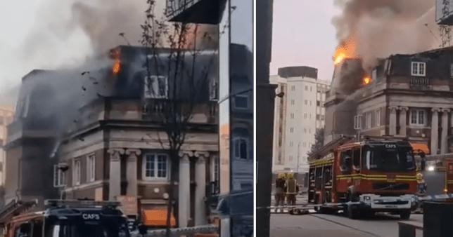 Bournemouth fire