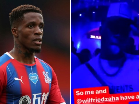 Wilfried Zaha breaks silence after 'sending transfer message to Arsenal' on Instagram