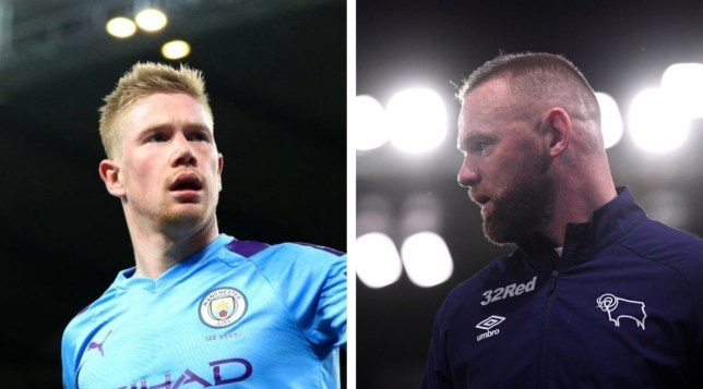 Manchester United hero Wayne Rooney has hailed Man City midfielder Kevin De Bruyne