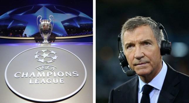 Graeme Souness has previewed the Champions League quarter-finals