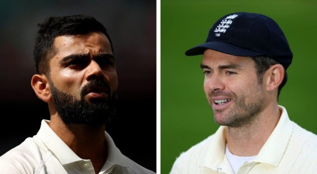 James Anderson has already shared some great battles with Virat Kohli