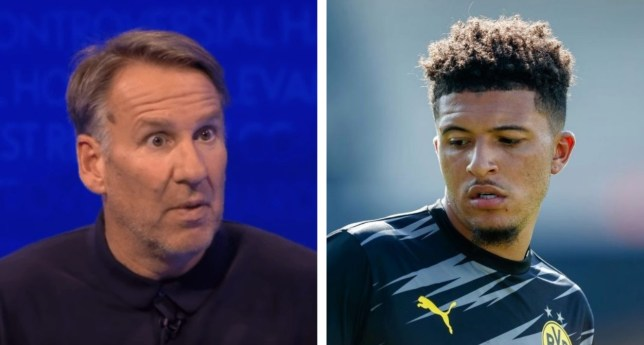 Paul Merson has urged Manchester United to sign Harry Kane instead of Jadon Sancho