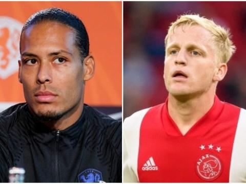 Liverpool's Virgil van Dijk supports Donny van de Beek over his Manchester United transfer