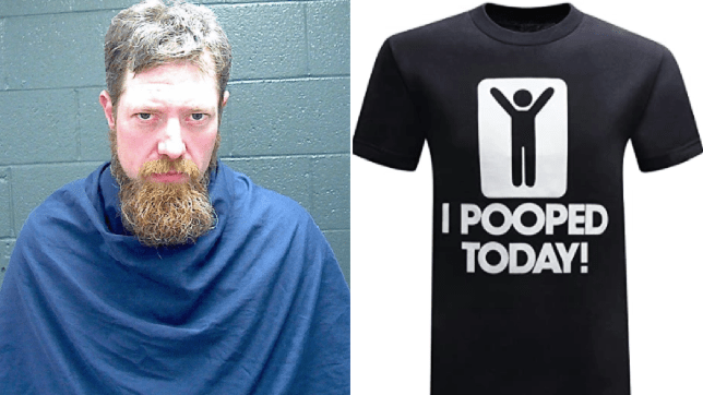 John Hunt and I Pooped Today t-shirt