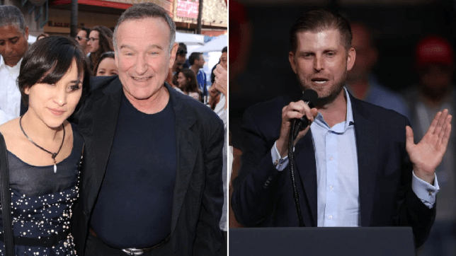 Robin Williams Daughter Slams Eric Trump For Sharing Video Of Her Dad Metro News