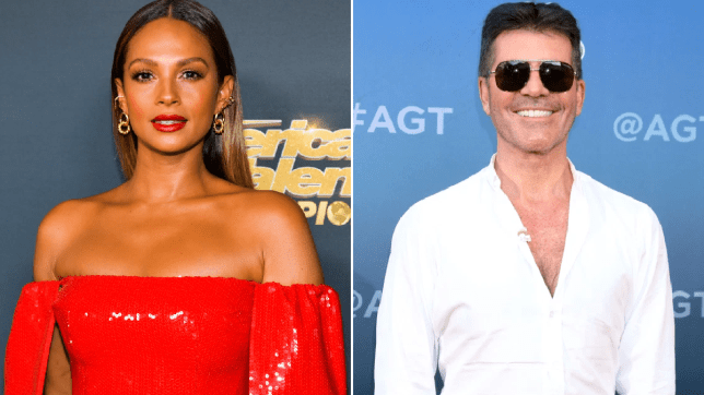 Alesha Dixon Simon Cowell accident
