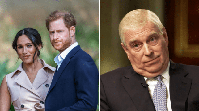 Meghan Markle Prince Harry and Prince Andrew