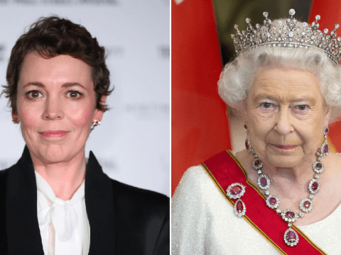 The Crown's Olivia Colman reveals she accidentally dropped the F-bomb when meeting the Queen