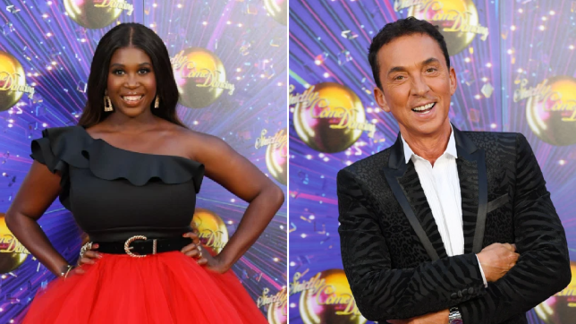 Motsi Mabuse and Bruno Tonioli Strictly Come Dancing
