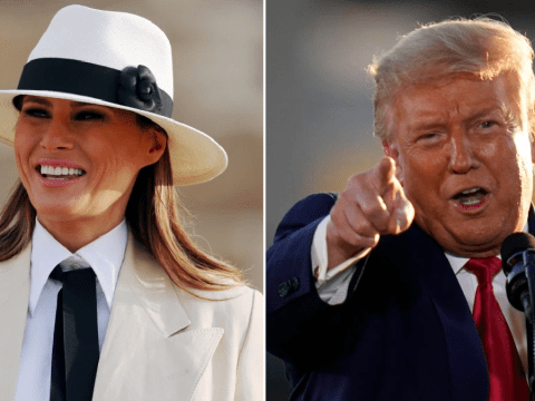 "Melania Trump 'erupted with laughter after Donald's ""grab em by the p*ssy"" tape leaked'"