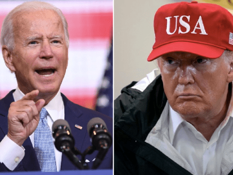 Joe Biden calls Donald Trump a violence-inciting 'toxin' who refuses to take blame for chaos sweeping US