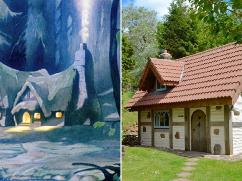 You can staycation in this picturesque Welsh cottage that looks just like Snow White's house