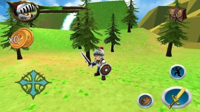 Zeld@ Ocarina Quest of Time screenshot