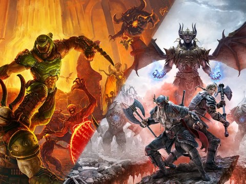 Doom Eternal and Elder Scrolls Online coming to PS5 and Xbox Series X as free updates
