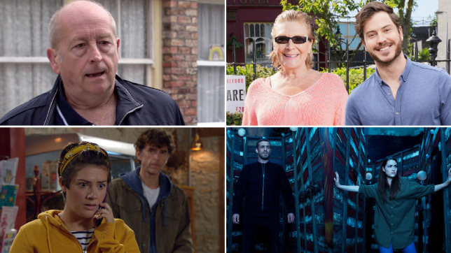 Geoff in Coronation Street, Linda Henry and Toby-Alexander Smith in EastEnders: Secrets From The Square, Marlon and Victoria in Emmerdale, Nico, Warren and Sienna in Hollyoaks