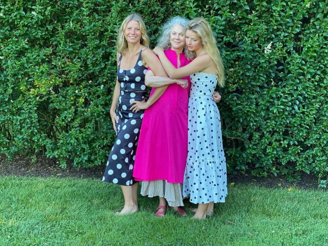 Gwyneth Paltrow, 47, models new clothing line with mother Blythe Danner, 77, and daughter Apple, 16