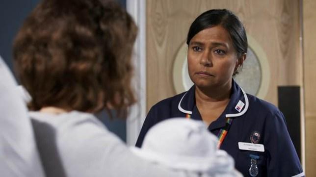 Ruhma in BBC One's Doctors