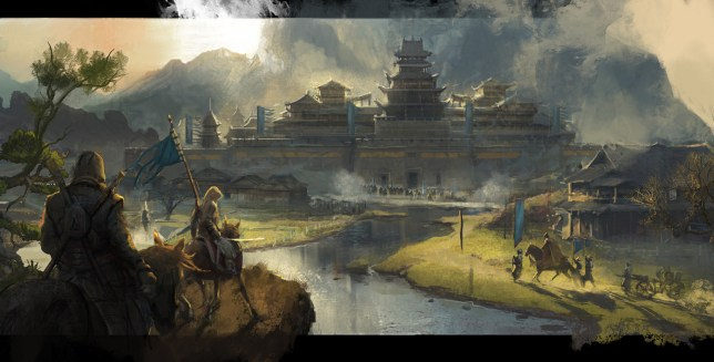 Assassin's Creed China concept art