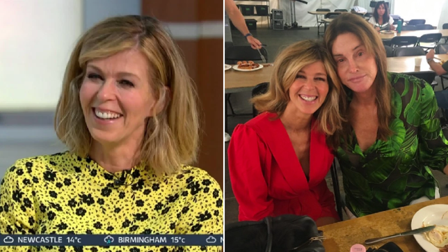 Kate Garraway and Caitlyn Jenner