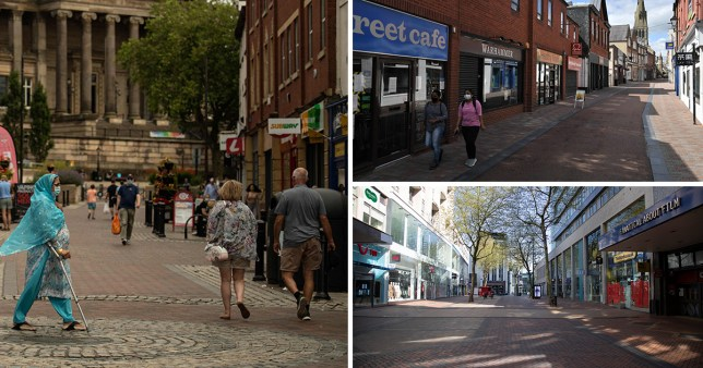 Leicester could see its lockdown restrictions relaxed today after a drop in the rate of coronavirus infections seven weeks after strict measures came into place