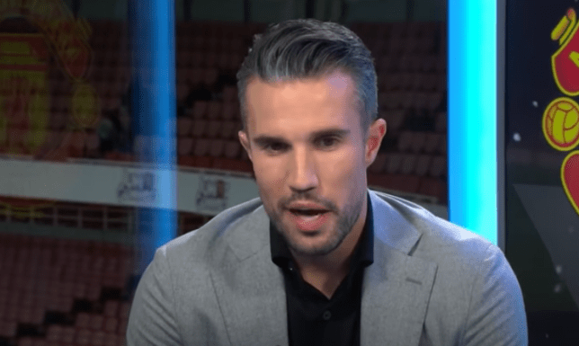 Robin van Persie is backing Manchester United to progress to the Europa League final