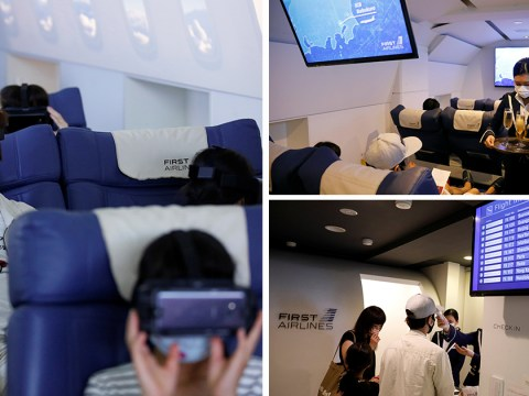 Japanese company is offering virtual reality 'flights' to curb your wanderlust