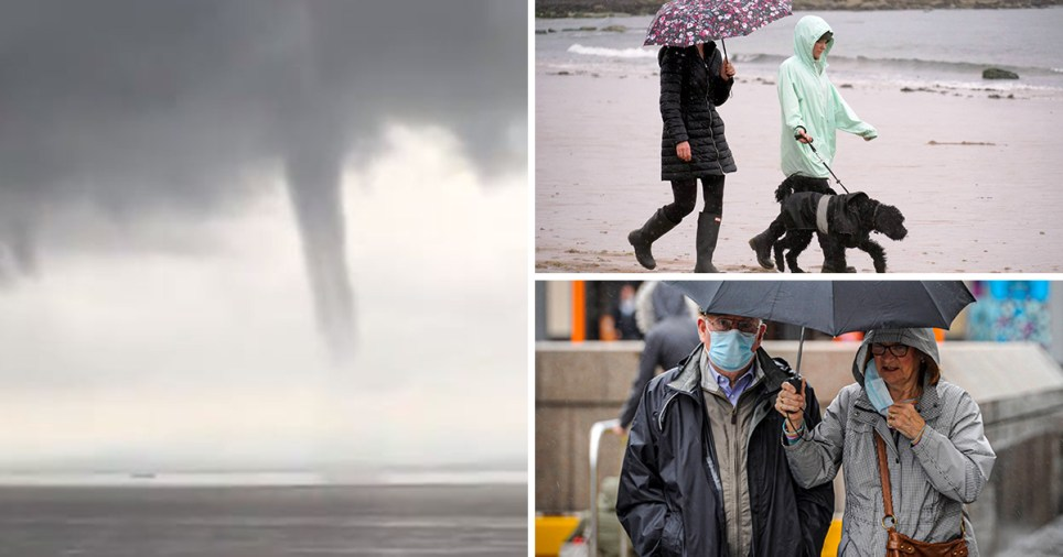 Flood warnings as almost all of UK to be hit by torrential rain and thunderstorms