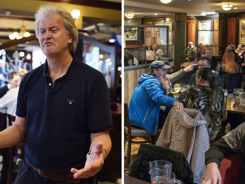 Fears people could be overcrowding inside Wetherspoon pubs