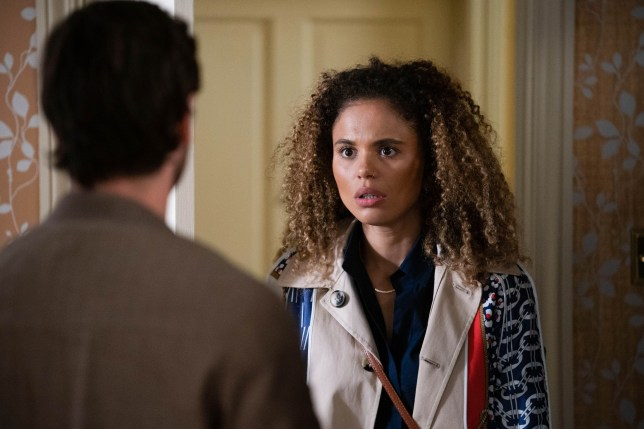 Chantelle and Gray in EastEnders