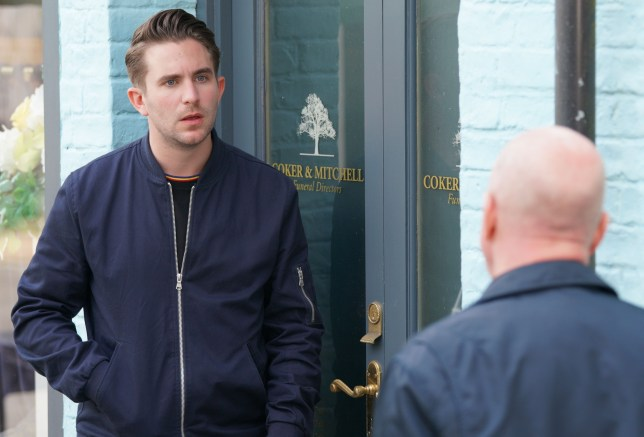 Callum and Phil in EastEnders