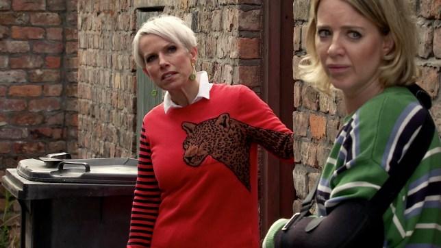 Debbie and Abi Coronation Street