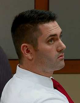 Seth Lockhart in court