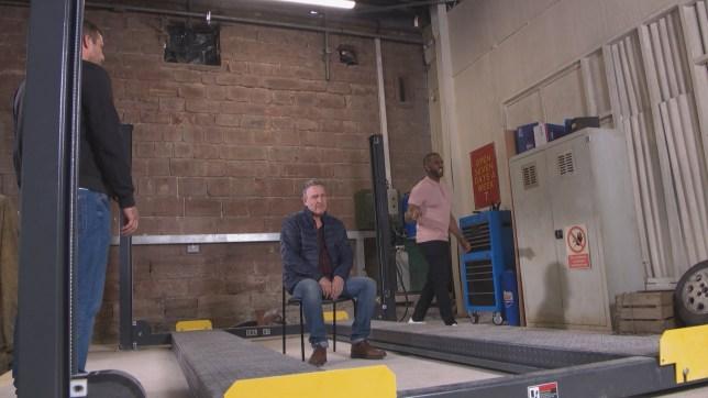Cormac, Felix and Warren in Hollyoaks