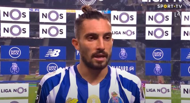 Porto left-back Alex Telles says he is not distracted by a potential move to Manchester United