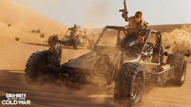 Call of Duty: Black Ops Cold War multiplayer screenshot
