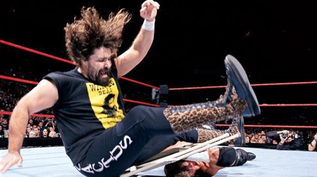 WWE legend Mick Foley - aka Cactus Jack