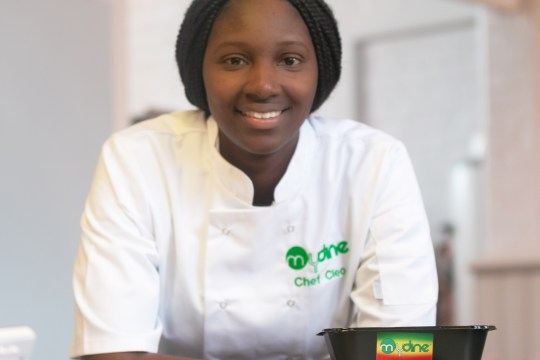 Cleo Morris, founder of MyDine catering company