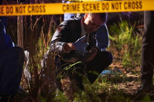 Ross Nixon crime scene