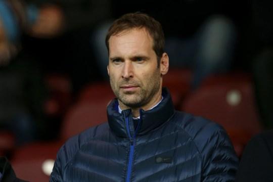 Cech se tient derrière Kepa