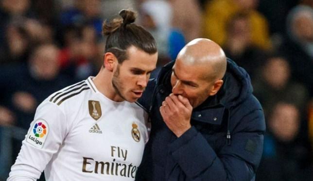 Gareth Bale has wished Zinedine Zidane good luck ahead of Real Madrid's new season