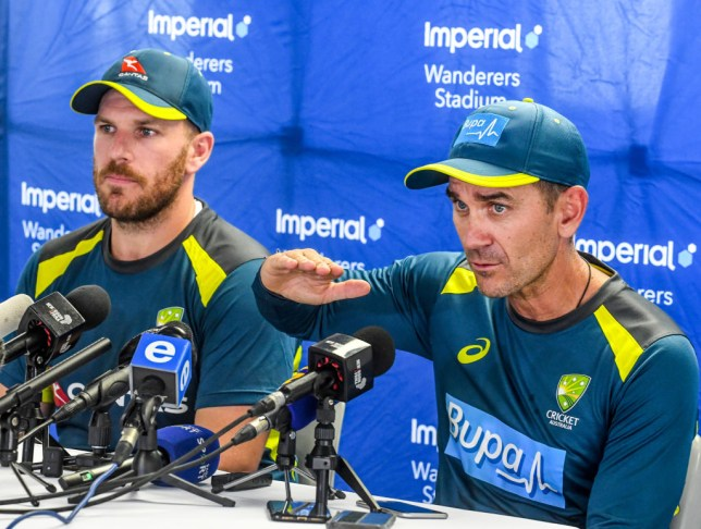Australia coach Justin Langer has responded to Michael Holding's criticism