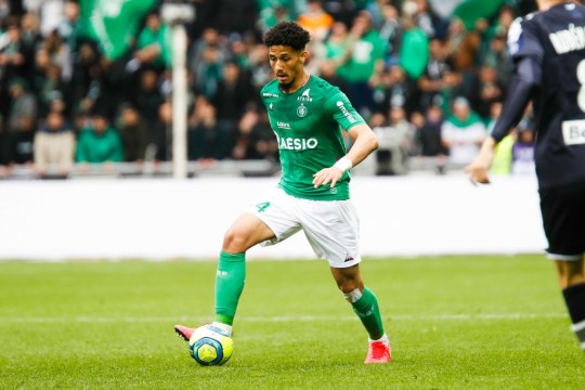 Saint-Etienne attempted to sign William Saliba on loan this summer